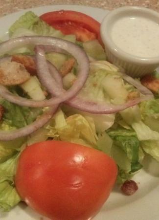 garden dinner salad